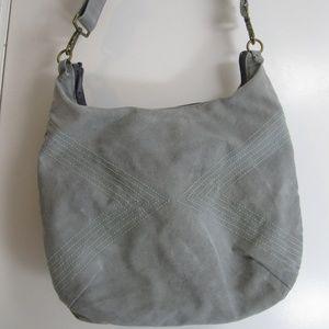 Queen Bee Creations Rita Hobo Shoulder Bag - Grey